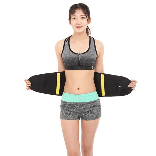 f64c10f8e7 Sweat Belt Fajas Reductoras Waist Trainer Body Shaper Women Slim Belly  Girdles Waist Cincher Corset Workout Neoprene Belt