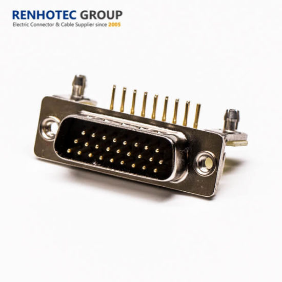 26pin Right Angle D Sub Solder Connector