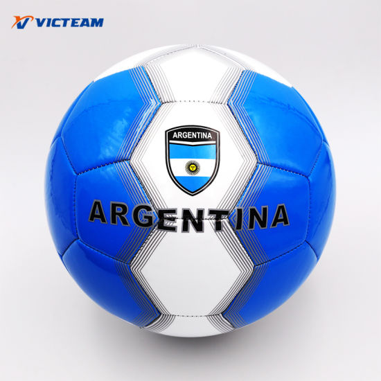 China Bulk World Cup Argentina Promotional Soccer Ball - China ... 8c49a20888aa