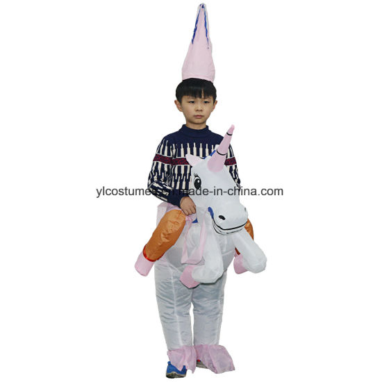 Fashion Novelty Blow up Inflatable Kids Unicorn Costume for Adults  sc 1 st  Yiwu Yelong Costumes Factory & China Fashion Novelty Blow up Inflatable Kids Unicorn Costume for ...
