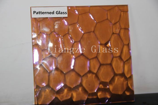 Dichroic Coating Color Architectural Pattern Building Sheet Glass
