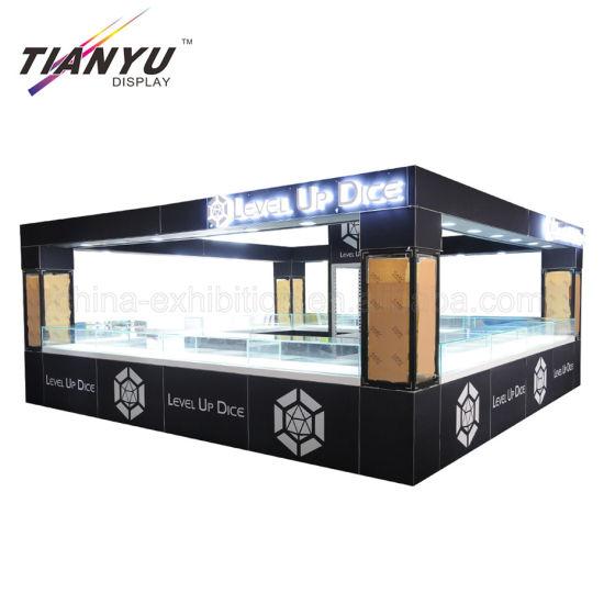 Portable Modular Standard Jewelry Aluminium Extrusion Tradeshow Booth