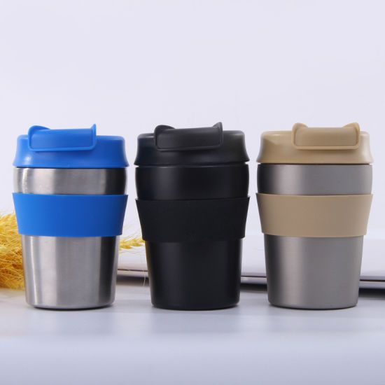 10oz Customized Travel Mug Wholesale Non-Disposable Mug for Milk and Coffee Vacuum Coffee Cup