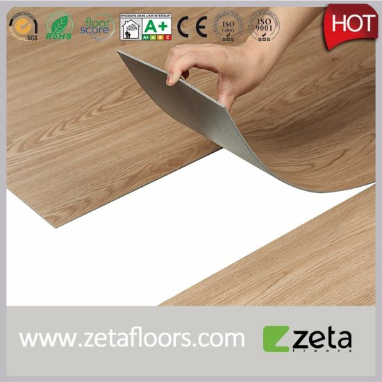 100 Recyclable Grey Wood Floor For House And Office Hoting Plastic Flooring