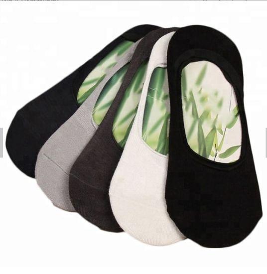 Man's Bamboo Fiber Ankle Socks, Low Cut Invisibale Socks