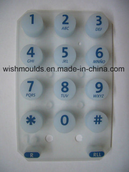 High Quality Silicone Rubber Keypad and Mold Supplier in China pictures & photos