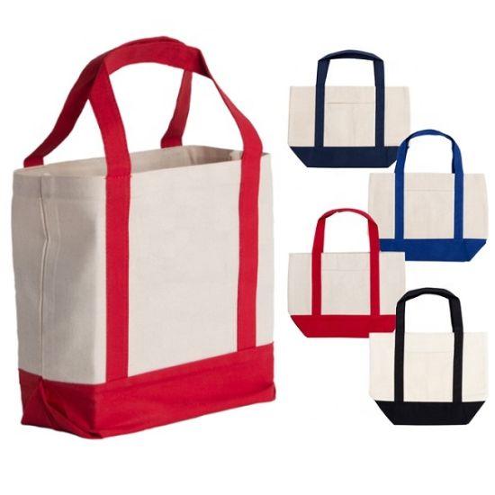 Eco Shopping Cotton Linen Tote Handbag Canvas Shoulder Bag