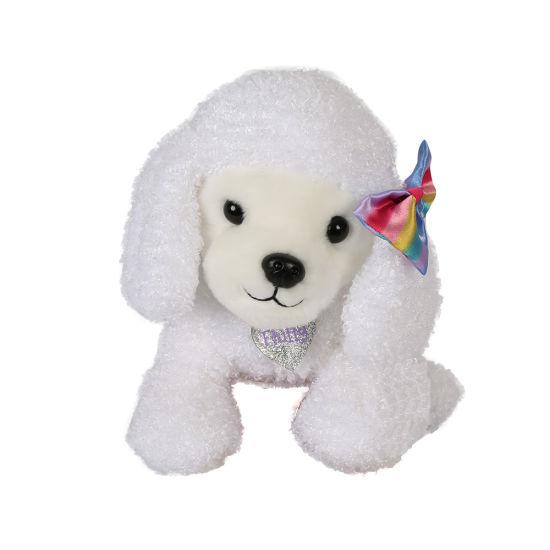 Bright Paws Fluffy Stuffed Plush Animal Soft Baby Toy