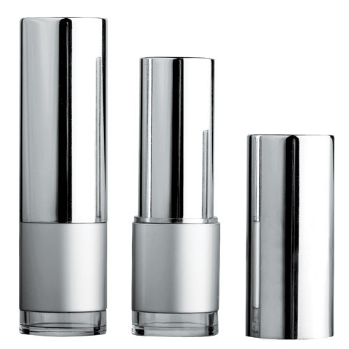 Cosmetic Empty Silver Plastic Lipstick Tube pictures & photos
