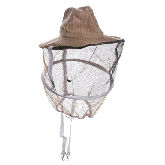 Apiculture Beekeeping Equipment Professional Beekeeper Cowboy Hat Anti Mosquito Bee Insect Veil Net Hat Full Face Beekeeping Hat pictures & photos