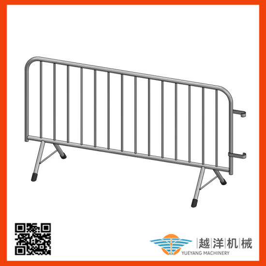 Safety Aluminium Road Crowd Control Barrier with Light Weight
