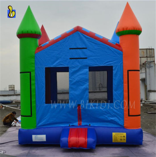 Factory Cheap Inflatable Jumping Castle, Moon Bounce House B1122 pictures & photos