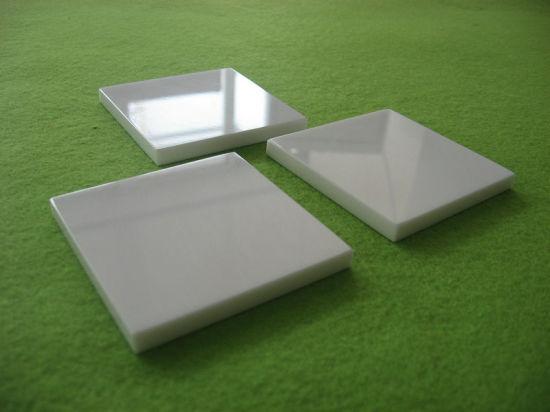 Industrial Glazing White Zirconia Ceramic Plate