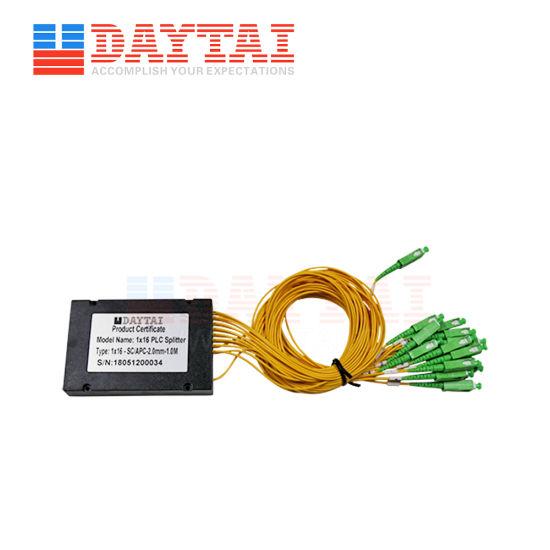 Factory Sc Upc 1X16 ABS Fiber Optic PLC Splitter