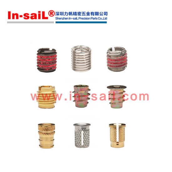 China Threaded Insert for Soft Wood or Plastic - Triple Fin