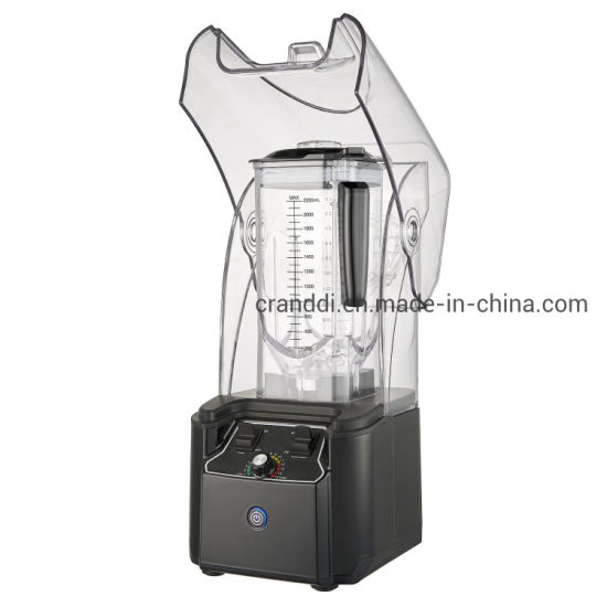 2200 W, ABS Body, Manual Control, Silent Design, Thickened Sound Insulation Cover, Low Noise, Removable Sound Insulation Cover Food Blender (YL-9105B-S)