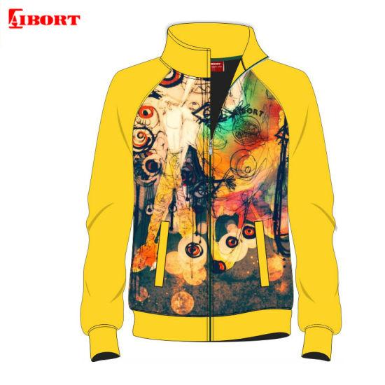 Aibort Customized Sublimation Sportswear Zipper Men Sport Tracksuit Custom Baseball Jacket