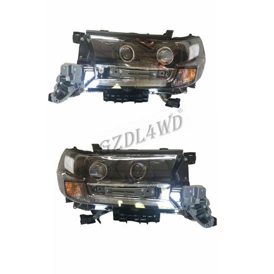 Auto Parts LED Headlight for Toyota Landcruiser Prado Fj200 LC200 2016+