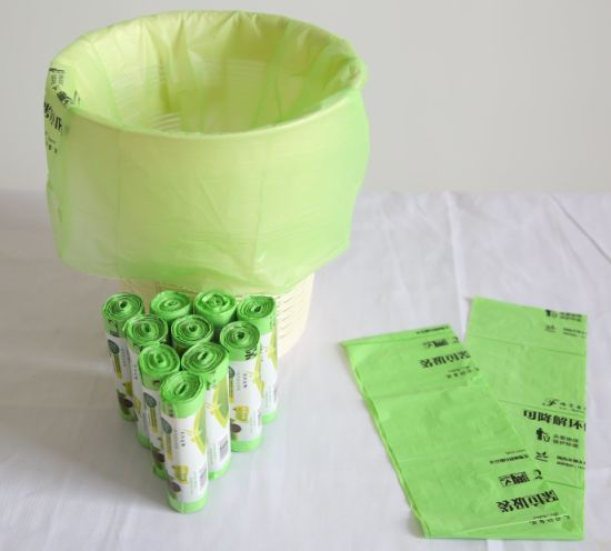 Biodegradable Plastic Bags Shopping Compostable Bags Corn Starch