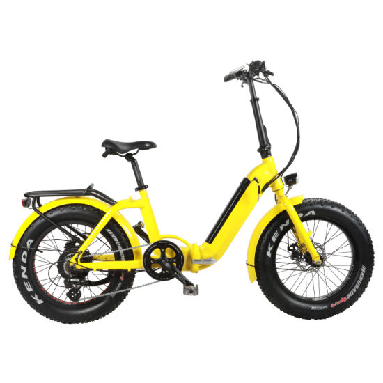 20 Inch Foldable Ebike with Hidden Battery