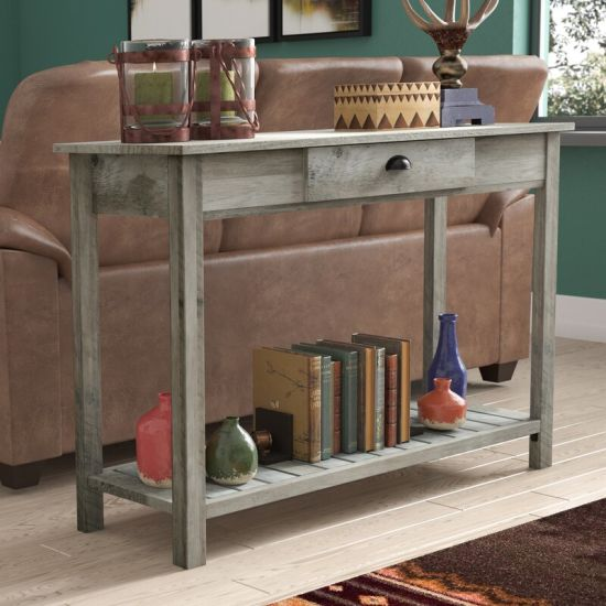 Side Table Console Desk