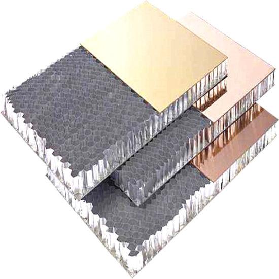 Building Curtain Wall Board Fireproof Aluminum Honeycomb Panels