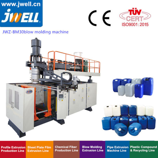 25L Chemical Packaging Jerrycan Making Blow Molding Machine