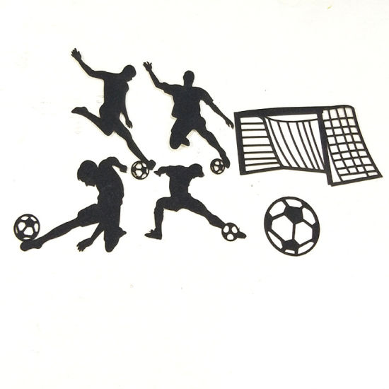 China Football Cake Decoration Card World Cup Theme Cake