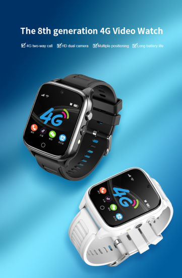 2020 Wholesale Kids Smartwatch Phone Mobile 4G Video Call IP68 GPS SIM HD Camera Android Sport Smart Watch for Child Boy Girls