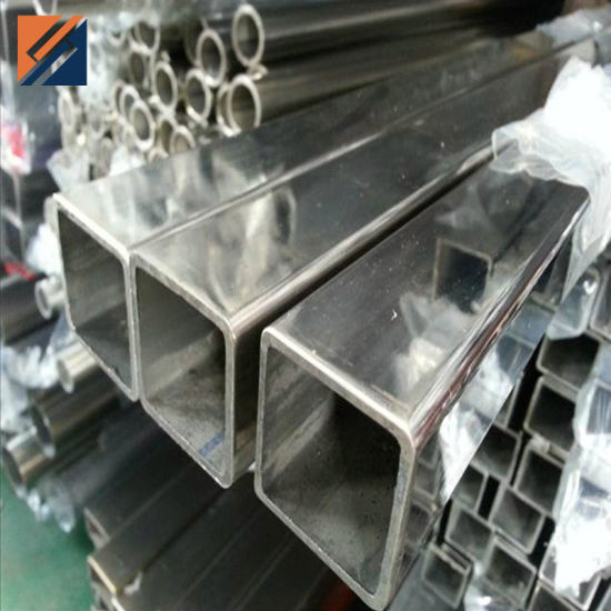 Factory Priced Stainless Steel Square Pipe