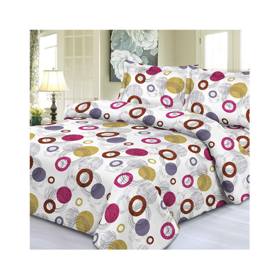 Quick Shipment Custom 100 Polyester Pigment Bed Sheet Fabric