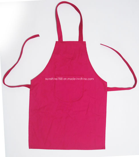 Promotion Cooking Kitchen Chef BBQ Painting Cotton Kids Children Apron pictures & photos