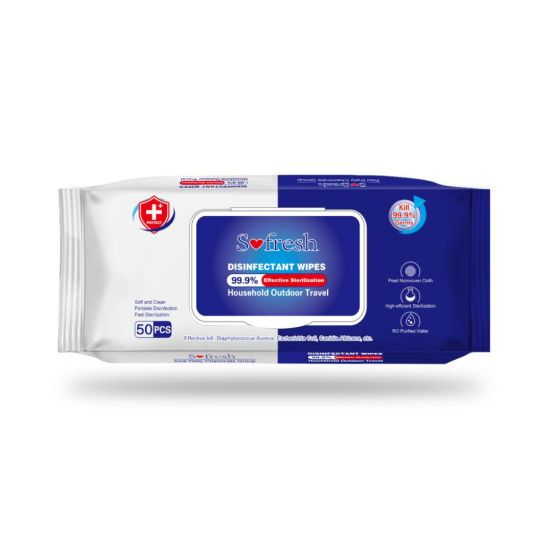 Ce No Alcohol Wipes for Virus Protection