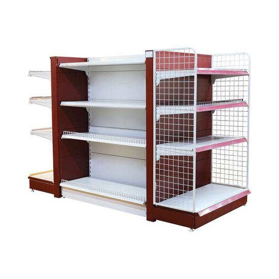 Durable Heavy Duty Double Sides Supermarket Display Shelf