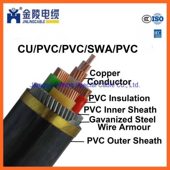 Nyry 4 Core Copper Conductor Armoured Power Cable