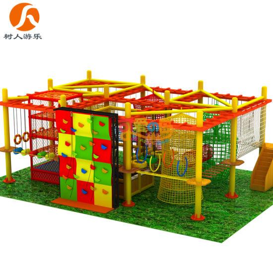 5-16 Years Children Indoor Play Park Equipment Adventure Playground Manufacturer
