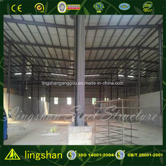China Low Cost Prefabricated Building Steel Warehouse pictures & photos