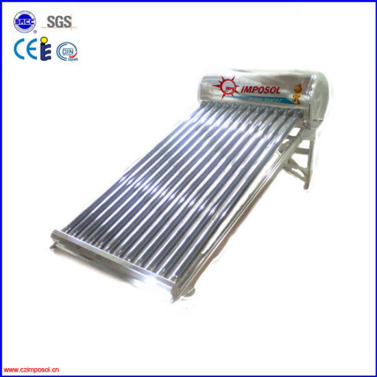 Compact Unpressure Solar Water Heating System