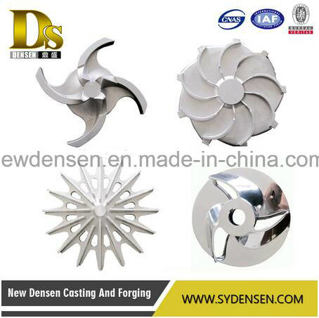 Customized Investment Casting Stainless Steel Impellers pictures & photos