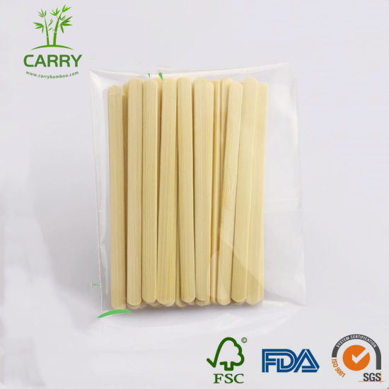 100% Natural Bamboo High Quality Coffee Stirrer pictures & photos