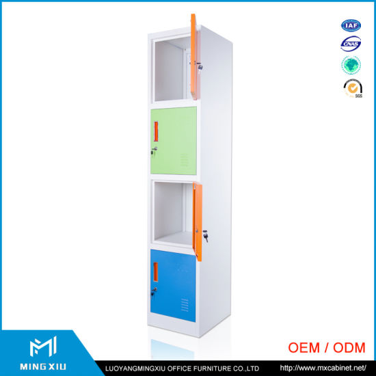Mingxiu High Quality Cheap Metal Storage Cabinet / 4 Door Locker pictures & photos