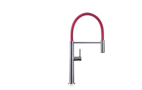 Kitchen Faucet Upc Sink Faucet with Red Pipe pictures & photos