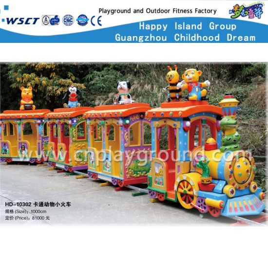 China Children Parks Cartoon Electric Train Kids Play Toys Hd 10302