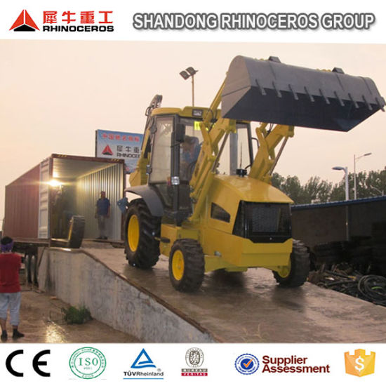 China Mini Compact Backoe Loader 7t Jcb 3cx Backhoe for Sale