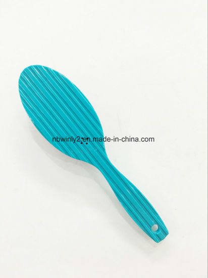 Metal Pin Mini Plastic Hair Brush pictures & photos