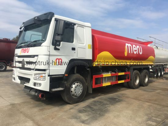China Export Factory Price New Truck High Quality Sinotruk HOWO 4X2 6X4 8X4 Oil Tank Truck Fuel Tank Truck Stainless Steel Aluminum Alloy for Sale