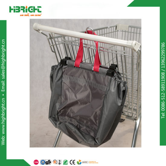 Supermarket Polyester Ping Trolley Bag Cart Bags With Cooler