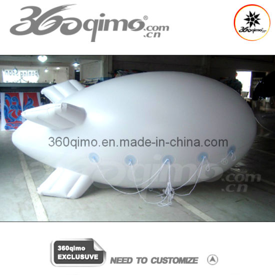 Small White Advertising Outdoor Inflatable Blimp (BMIB459) pictures & photos