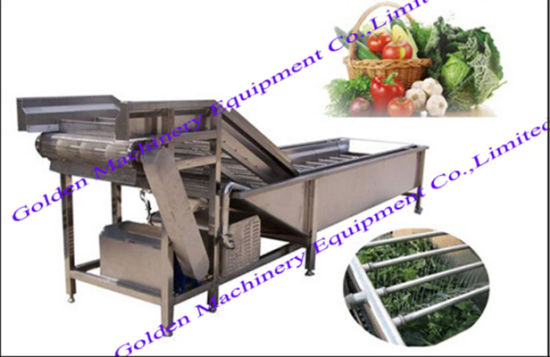 Stainless Steel China Vegetable Brush Washing and Peeling Machine pictures & photos