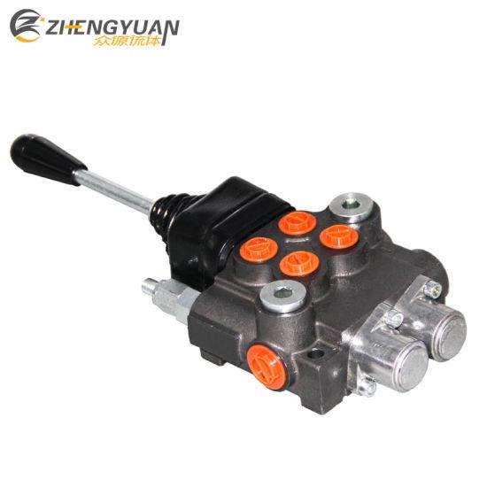 China Hydraulic Joystick Directional Control Monoblock Valve for